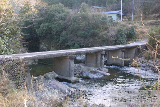 上長瀬沈下橋