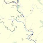 楽舎周辺地図(網代トンネル)
