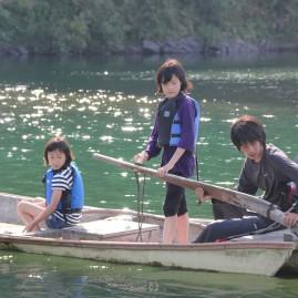 川漁師体験
