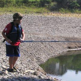 川釣り体験
