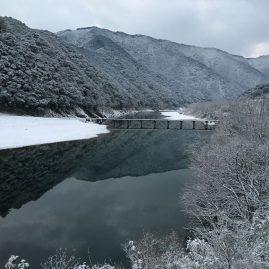 冬の四万十写真